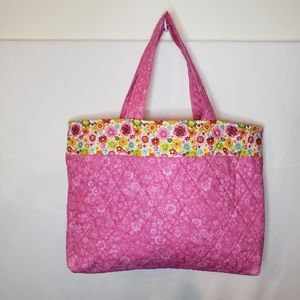 Hand made tote farmers market carry all bag